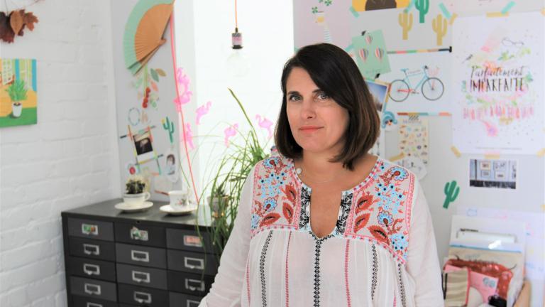 Marie-Laure Plano, Graphic Designer, Lili Graffiti