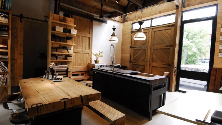 Le Moine Urbain Studio, Montreal, 2010