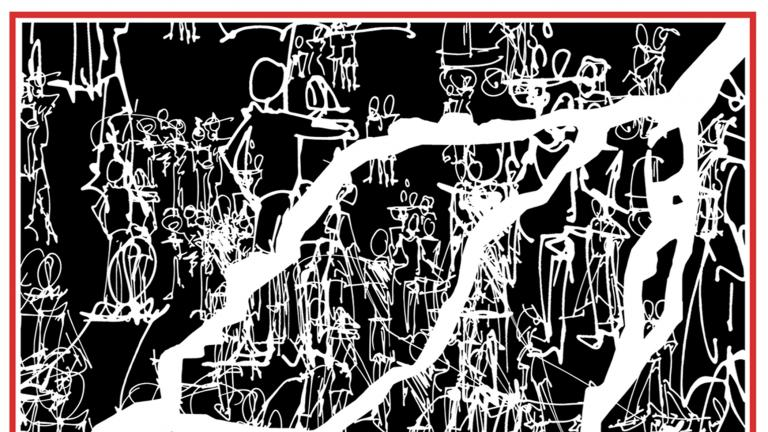 Carré de soie petit format — Muse