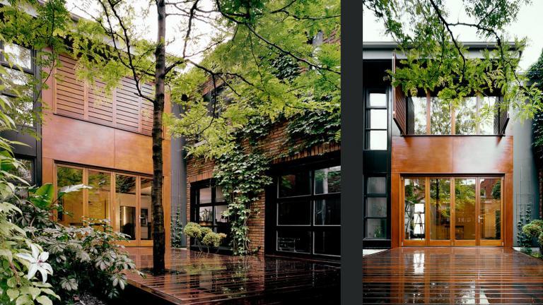 Maison en U, Montréal 2007