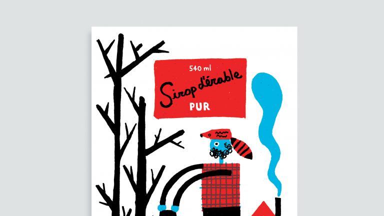 Cartes et affichettes Paperole Images de Montréal — Sirop