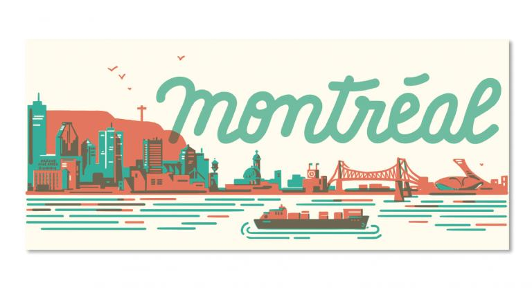 Carte postale — Skyline