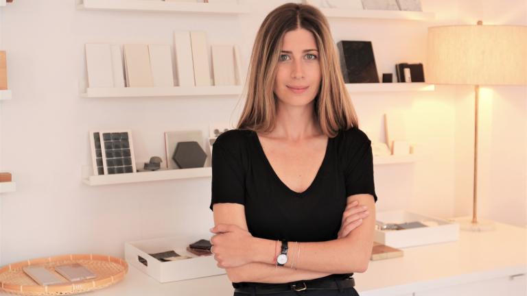 Pascale Viglas, designer d'intérieur, cofondatrice de l'Atelier Rhoncus Design