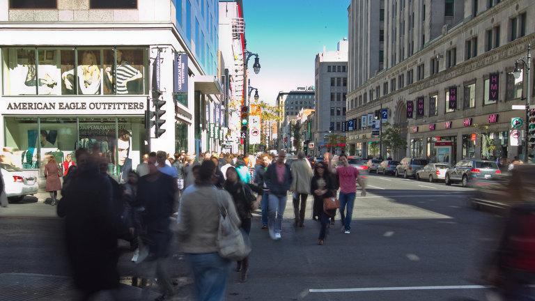 Rue Sainte-Catherine, Montréal