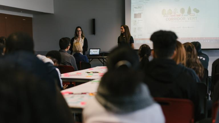 Students presentation to the jury on March 2, 2017