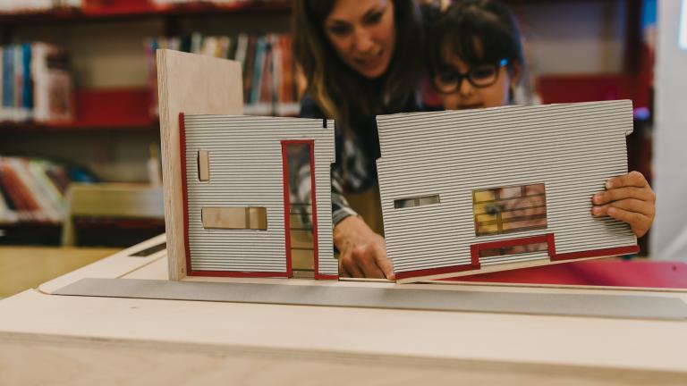 Bibliothèque Hochelaga, atelier du 22 octobre 2016
