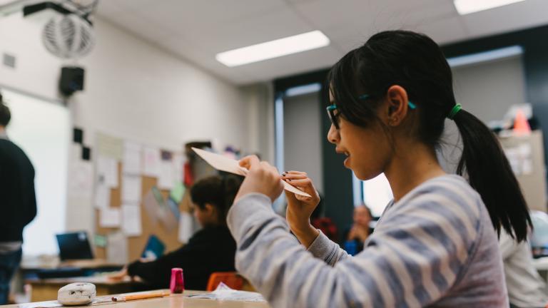 Notre-Dame-de-Grâce School, workshop on November 10, 2016