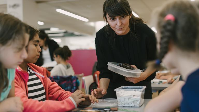 Marie-Uguay Library, activity on November 9, 2016
