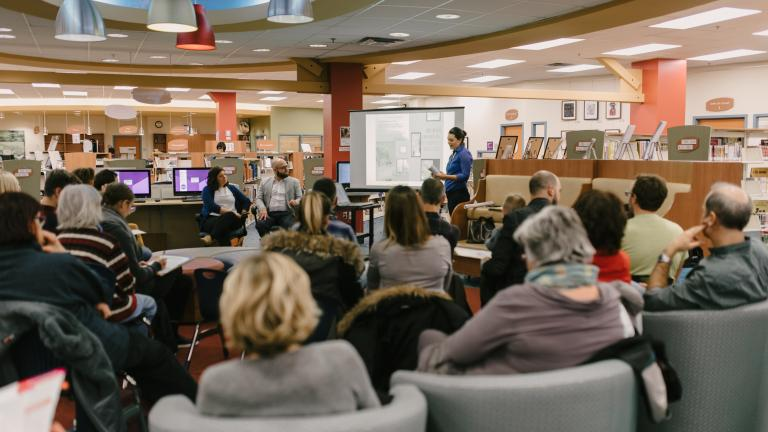 Saint-Henri Library, activities on November 5, 2016
