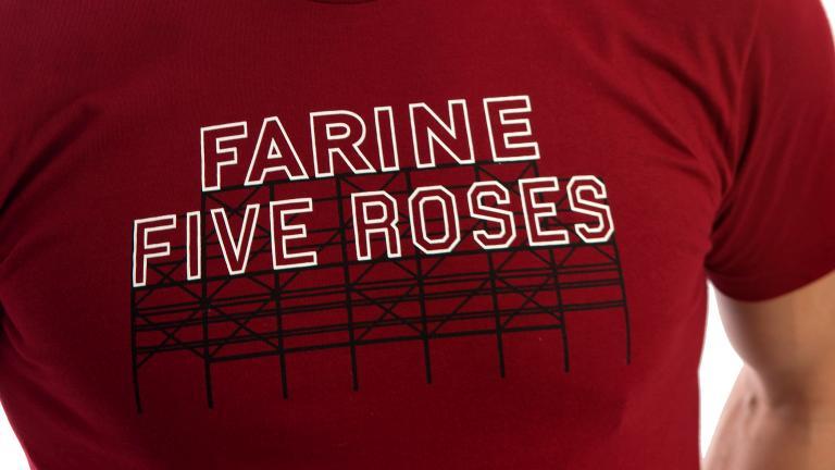 T-shirt imprimé Farine Five Roses
