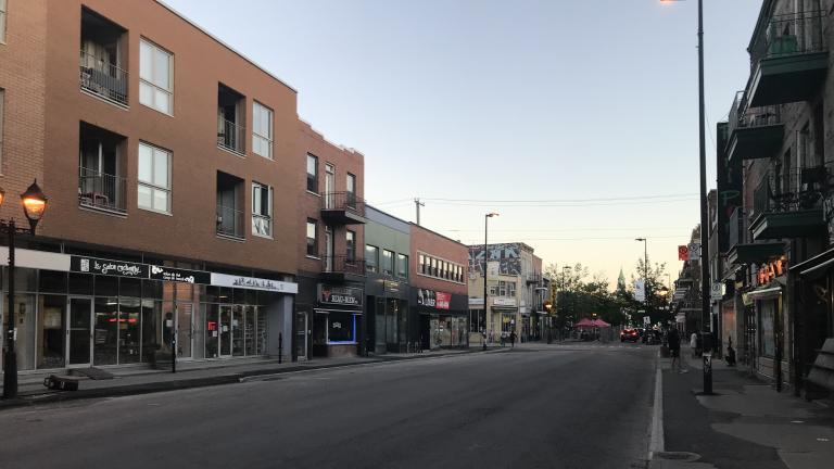 East Ontario Street, June 11, 2020