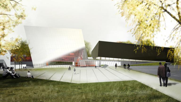 Saucier + Perrotte Architectes - Hughes Condon Marler Architects / SNC Lavalin inc / Agence Ter, paysagistes, urbanistes