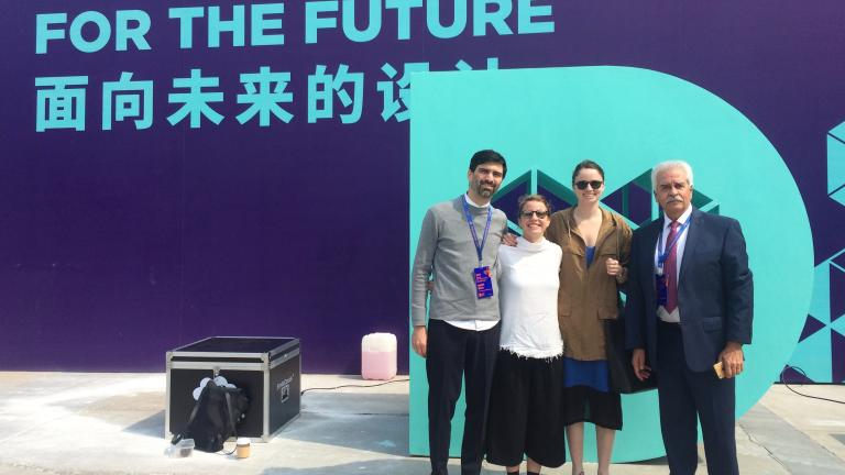 Philippe Carreau, Gabrielle Falardeau, Élyse Leclerc and Luis Gonzalez Arenal (Puebla, UNESCO City of Design), Shenzhen Design Week