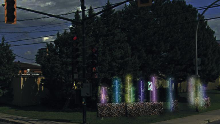Station hivernale La forêt enchanteresse, arrondissement Pierrefonds-Roxboro