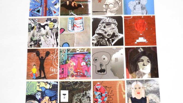 Sous-verres Montréal arts urbains vol.1