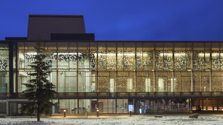 Pavillon des sciences - UQAT, Rouyn-Noranda, 2012