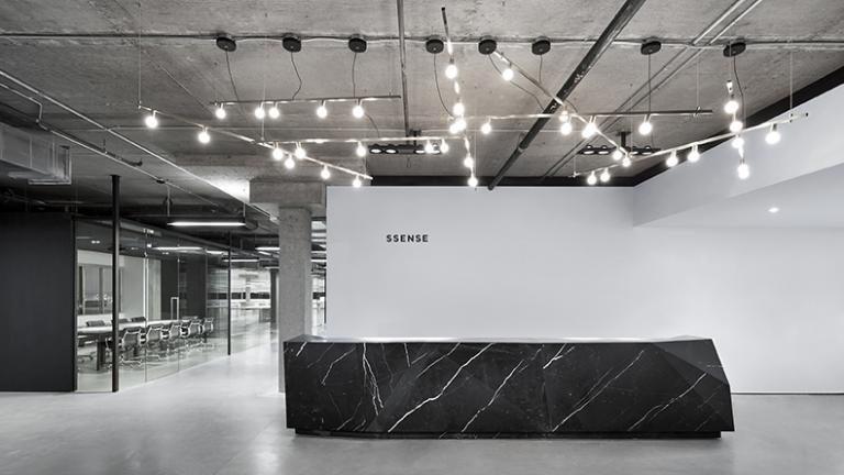 SSENSE head office, Montreal, 2013