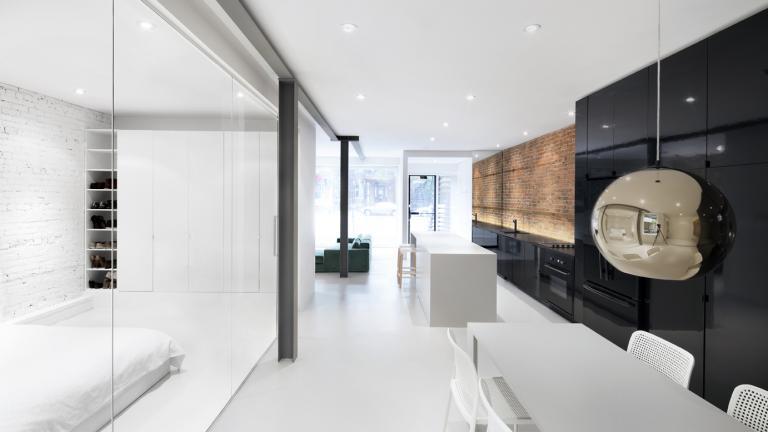 Elegant Espace St Denis, Montréal, 2013. IN Interior Design
