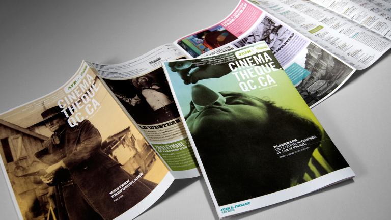 Cinémathèque québécoise, program, 2009-2016