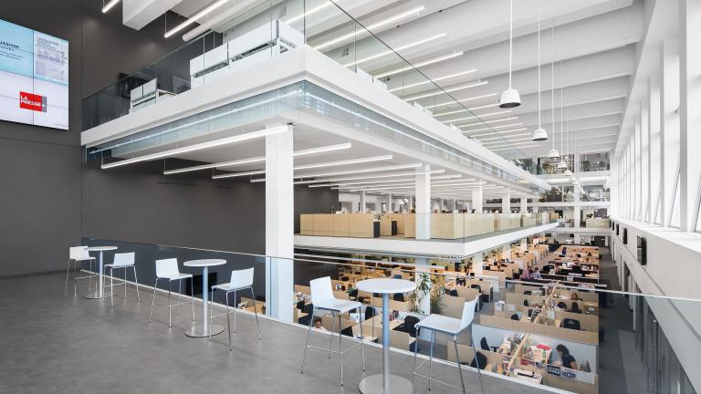 La Presse newsroom, in consortium with Architecture 49, Montreal, 2015
