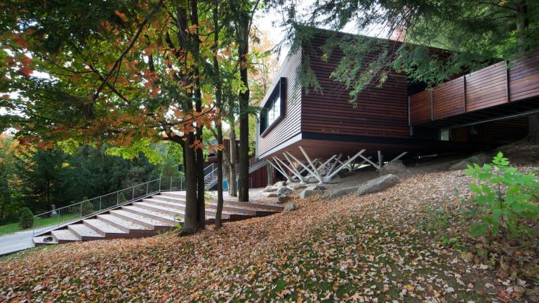 Balnea, Pavillon des arbres, Bromont, 2015