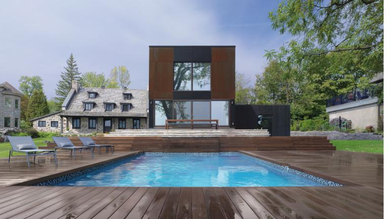 Maison Bord-du-lac, Dorval, 2012