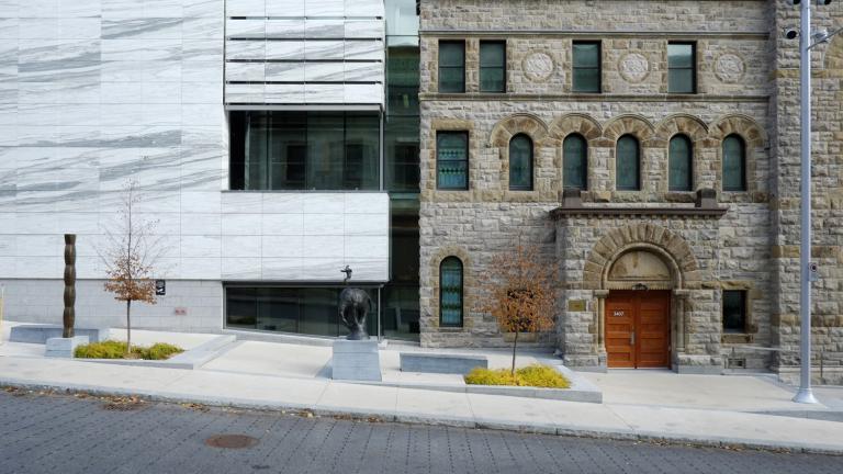 L'écrin du musée des beaux arts de Montréal, Montréal, 2013