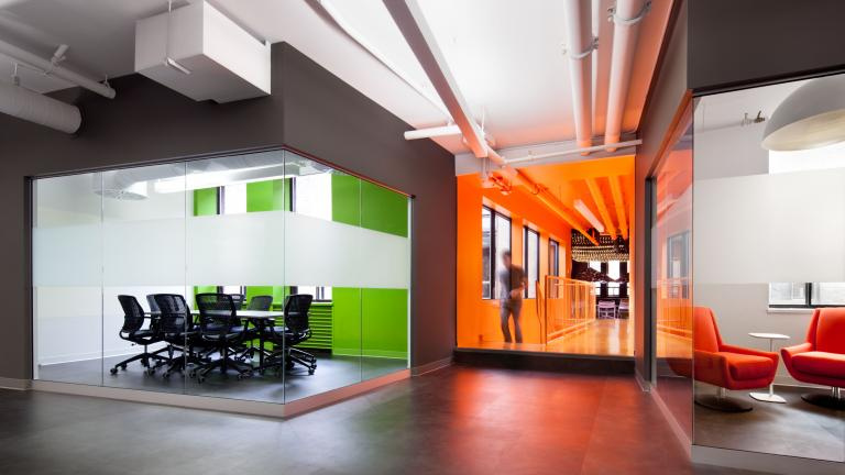 Ludia's Expanded Offices, Montreal, 2013