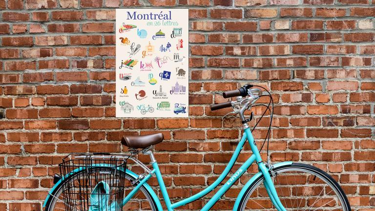 Affiche Montréal en 26 lettres, 2016