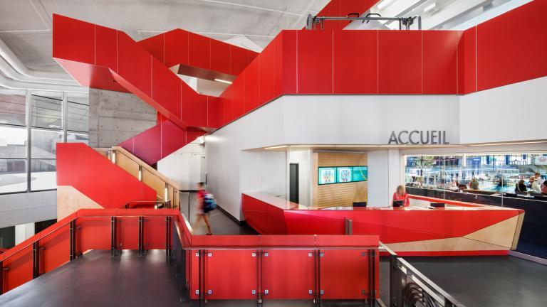 Parc Olympique sport centre, Montreal, 2013