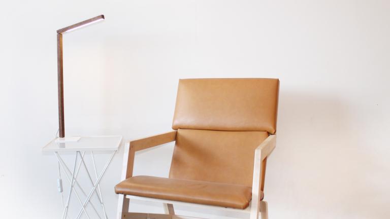 Havana Chair, Table 2001 and Island Lamp, Montreal, 2016