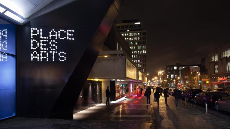 Signage program for Espace Georges-Émile-Lapalme of Place des Arts, Montreal, 2009 – 2014