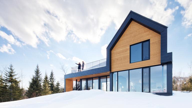 Monrocher cottage, Petite-Rivière-Saint-François, Quebec, 2015