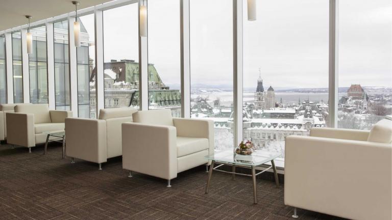 La Capitale Groupe Financier, Aménagement du siège social, Québec, 2012