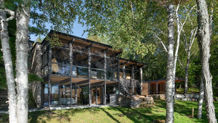 Résidence secondaire au Lac Ouimet, Mont-Tremblant, 2018