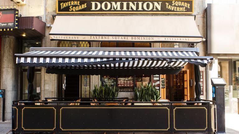 Dominion Square Taverne Terrasse, Montréal, 2015