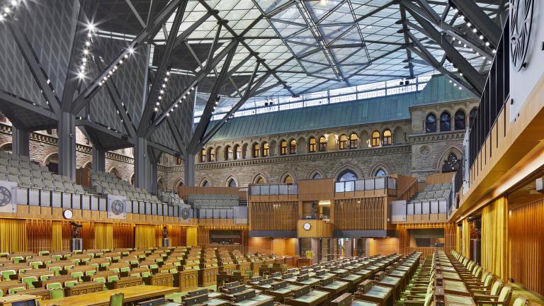 Édifice de l'Ouest, Parlement du Canada, Ottawa, 2018