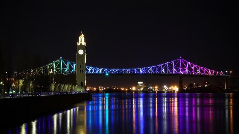 Pont Jacques-Cartier, Montréal, 2017