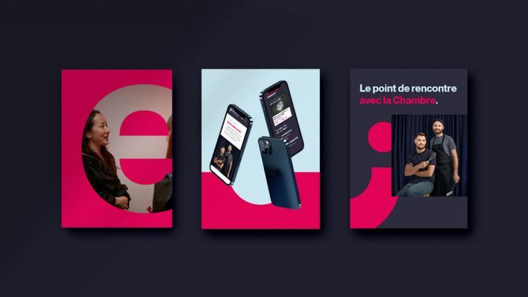 Branding and Website, Chambre de commerce de l'Est de Montréal, 2020