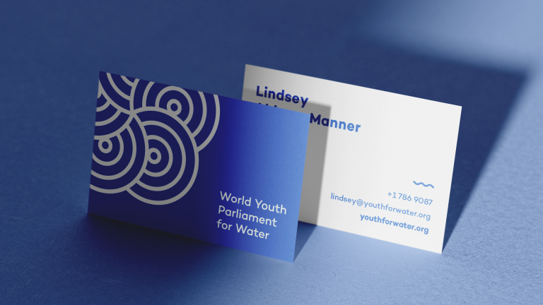 Branding and Website, World Youth Parliament for Water