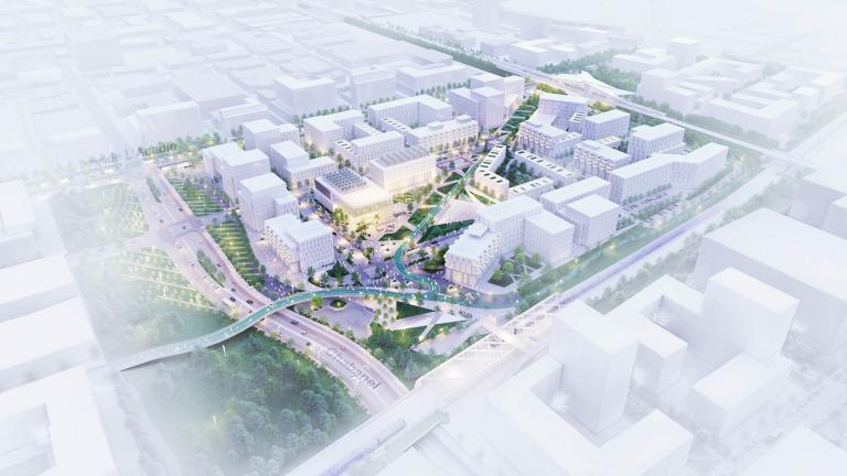 SPP, Ahuntsic and Chabanel Stations TOD, Montréal, 2020