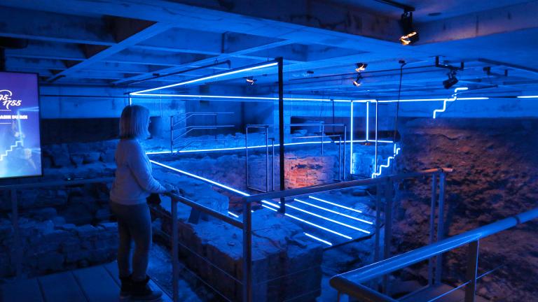 Les bâtisseurs de Montréal, musée Pointe-à-Callière, Montréal, 2017