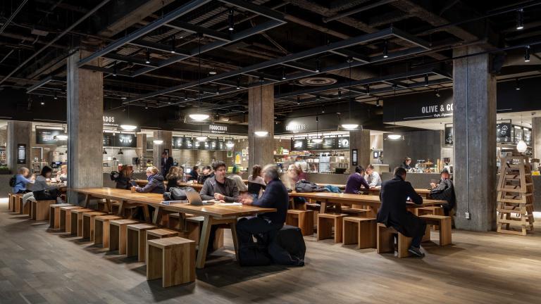 Time Out Market, Centre Eaton, Montréal, 2019