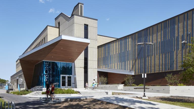 Rénovation de la piscine et agrandissement, École secondaire Henri-Bourassa, 2020
